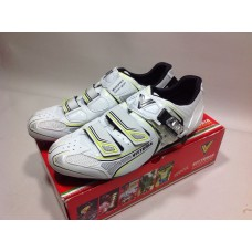 Vittoria Shoes Road Brave White-Yellow