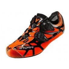 Vittoria Shoes Road Ikon Nylon Sole Orange
