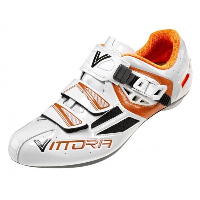 Vittoria Speed Road Shoes White/Orange