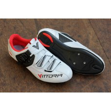 Vittoria Speed Road Shoes White/Red