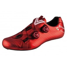 Vittoria Velar Carbon Sole Road Cycling Shoe Red