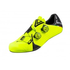 Vittoria Velar Carbon Sole Road Cycling Shoe Yellow Black