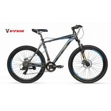 "Viva 5.0 SX 26"" Disc Mountain Bike 2018 Mate Black"
