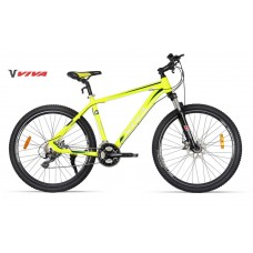 "Viva 5.5 SX 27.5"" Disc Mountain Bike 2018 Fluro Yellow Blue"