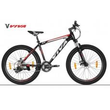 "Viva EVO 5.0 SX 26"" Disc Mountain Bike 2018 Black Red"