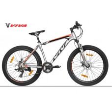 "Viva EVO 5.0 SX 26"" Disc Mountain Bike 2018 Silver Orange"