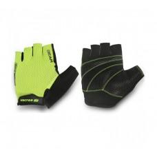Viva Gear Half Finger Cycling Gloves Green Black
