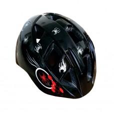 Viva H-100 JR Cycling Helmet Black Red