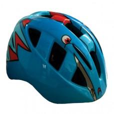 Viva H-100 JR Cycling Helmet Blue Red
