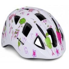 Viva H-100 JR Cycling Helmet White Green