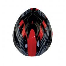 Viva H-50 Cycling Helmet Black Red