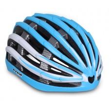 Viva H-500 JR Cycling Helmet Blue White