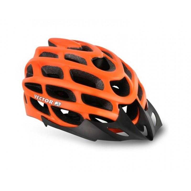 Viva H-70 Cycling Helmet Matt Orange