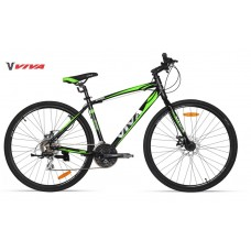 Viva Hybrid Bike 2018 Green Black