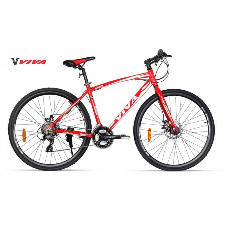Viva Hybrid Bike 2018 Red White