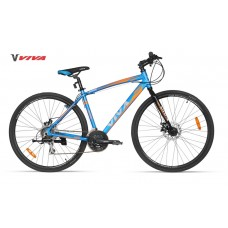 Viva Hybrid Bike 2018 Steel Blue Black