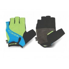 Viva Rider Half Finger Cycling Gloves Blue Green