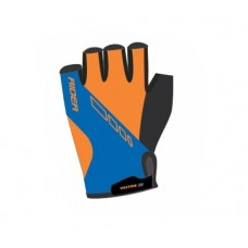 Viva Rider Half Finger Cycling Gloves Blue Orange