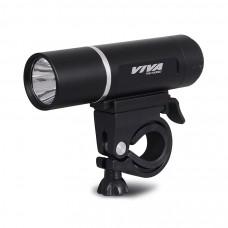 Viva VB 246-1W Cycle Head Light Aluminium