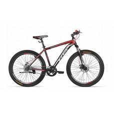 "Viva 1.0 SX 26"" Single Speed Disc Mountain Bike 2018 Black Red"