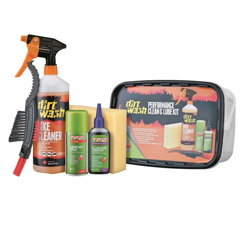 Dirtwash Performance Clean & Lube Kit