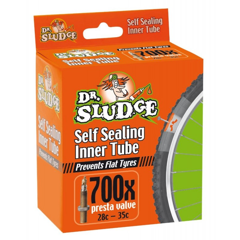 Dr.Sludge 700X28C-35C Sealant Pre Filled Presta Tube
