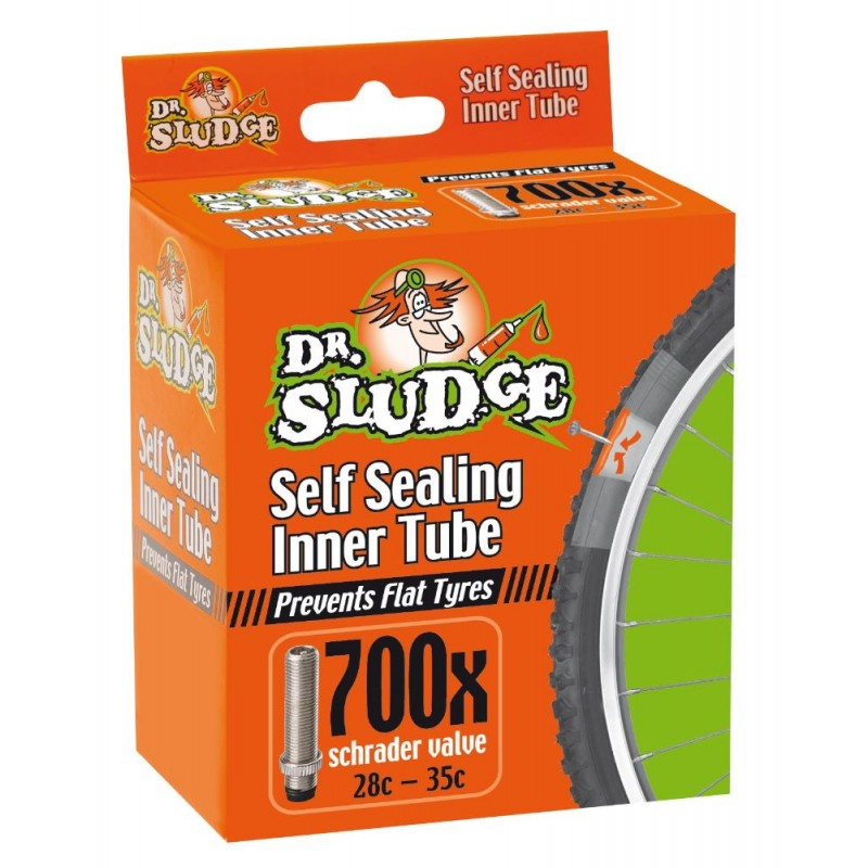 Dr.Sludge 700X28C-35C Sealant Pre Filled Schraeder Tube