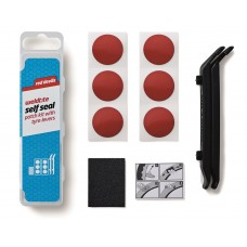 Weldtite Red Devil Selfseal Puncture Kit with Tyre Levers