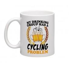 wizbiker Cycling Problem Coffee Mug