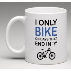 wizbiker Days Cycling Quote Coffee Mug