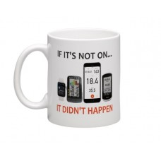 wizbiker It Didnt Happen Cycling Mug