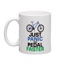 wizbiker Panic Biking Theme Mug