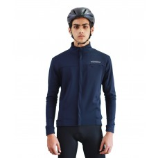 wizbiker Winter Cycling Jersey Blue