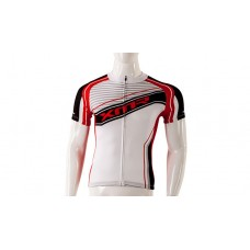 XMR 300 Mens Cycling Jersey White/Red (MCT019 A)