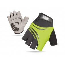 XMR Concept Gel Half Finger Hand Gloves Black Green (AI-03-121)
