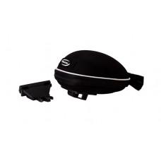 XMR Hard Saddle Bag Black (B5)