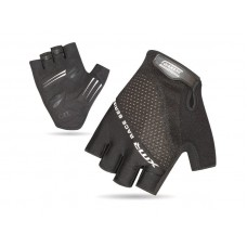 XMR Race Series Gel Foam Half Finger Hand Gloves Black (AI-03-241)
