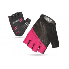 XMR Race Series Gel Foam Half Finger Hand Gloves Black Light Pink (AI-03-241)