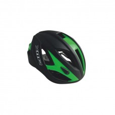 XMR Semi Aero 1.0 Road Cycling Helmet Black Green (HC-44)