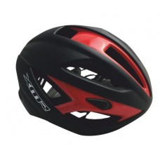 XMR Semi Aero 1.0 Road Cycling Helmet Black Red (HC-44)