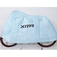 XMR Water Resistant Bike Cover Blue