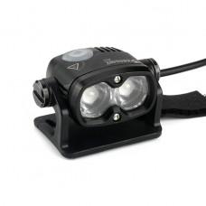 Xeccon Zeta 1600 Bike Front Light Black