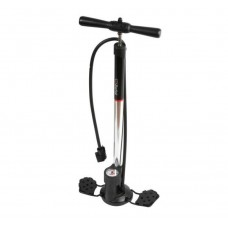 Zefal Husky Z-Switch Floor Pump Psi/Bar Silver/Black