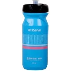 Zefal Sense M65 Water Bottle 650Ml Cyan Blue
