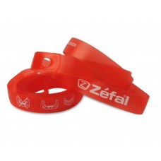 Zefal Soft Pvc Rim Tapes Mtb 18mm Red  1 Pair Blister