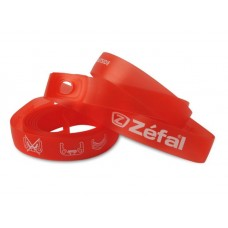 Zefal Soft Pvc Rim Tapes Mtb 22mm Red  1 Pair Blister