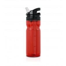 Zefal Trekking Red Translucent Bottle 700ml