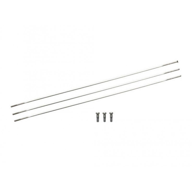 Zipp Sapim CX-Ray Straight Pull Spokes and Nipples Silver 248mm