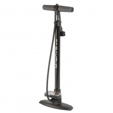 M-Wave Air Jet Floor Pump Black
