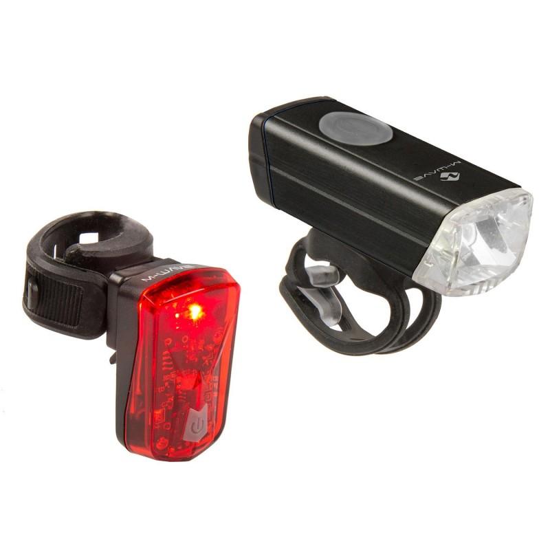 M-Wave Atlas 20 Usb Accumulator Lamp Set